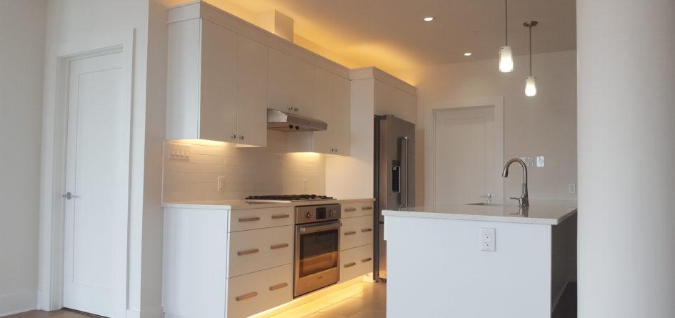 Condo Kitchen & Wine Rack