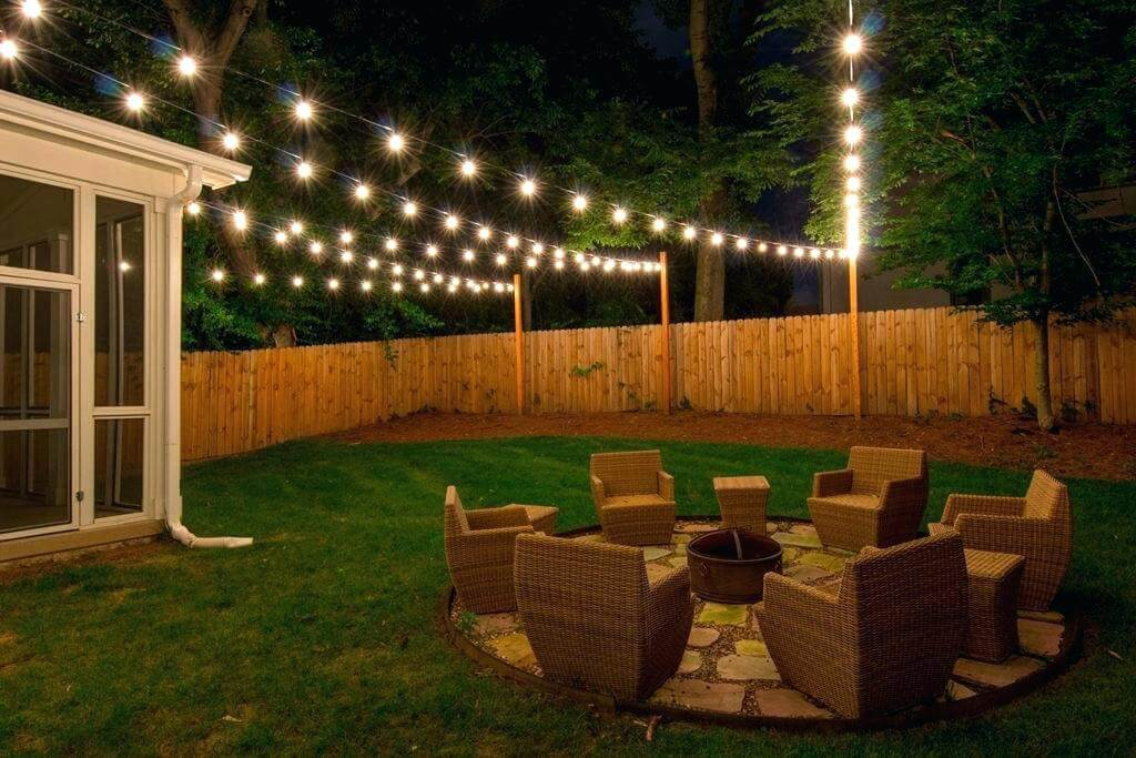 frightening patio lights string string lights backyard custom string lights light up design and installation outdoor patio patio lights string photo inspirations