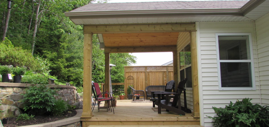 Roof Extension Over Your Deck