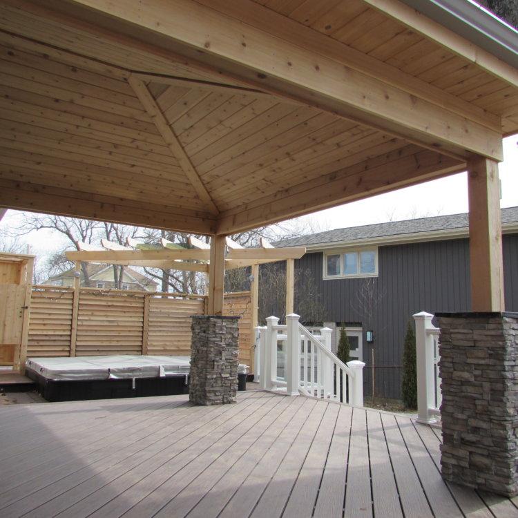 Canadian Home Builders Association Outdoor Living Renovation Award Winner 5