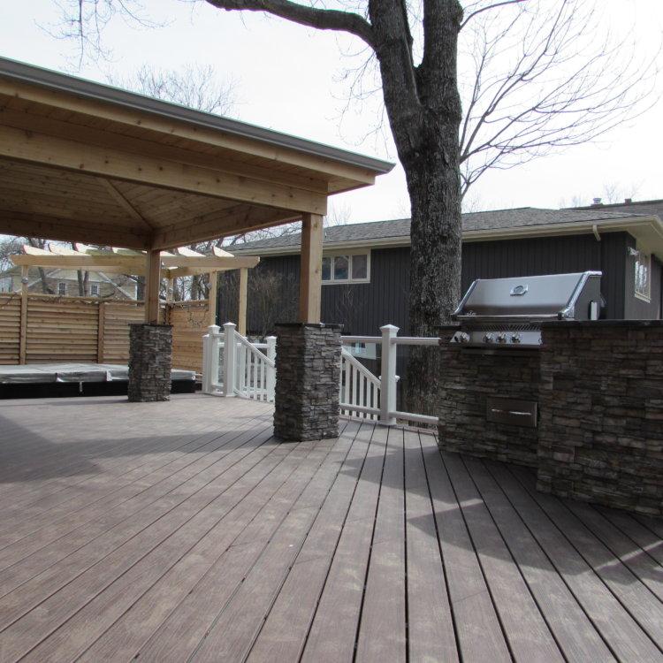 Canadian Home Builders Association Outdoor Living Renovation Award Winner 2