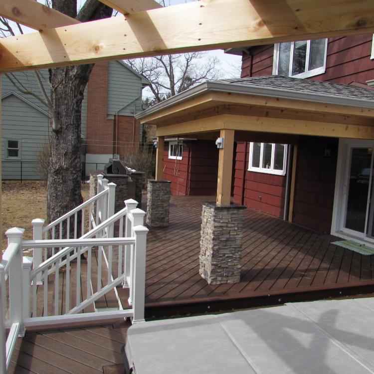 Canadian Home Builders Association Outdoor Living Renovation Award Winner 1