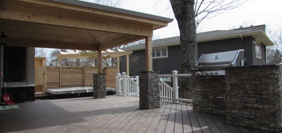 Canadian Home Builders Association Outdoor Living Award Winner