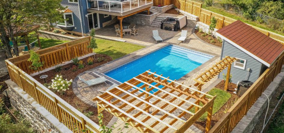 Canadian Home Builders Association Outdoor Living Award Winner