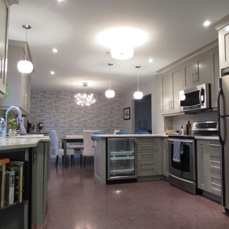 Open Concept Kitchen 3