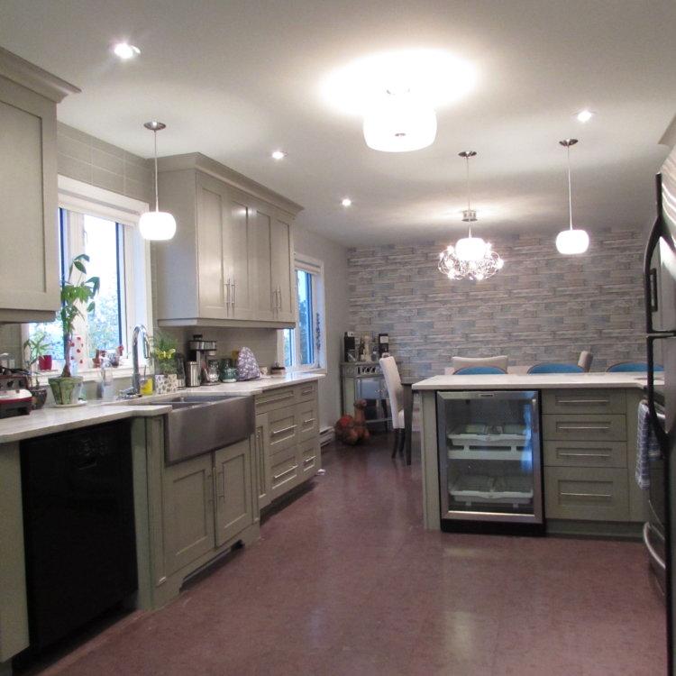 Open Concept Kitchen 4