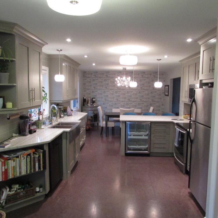 Open Concept Kitchen 1